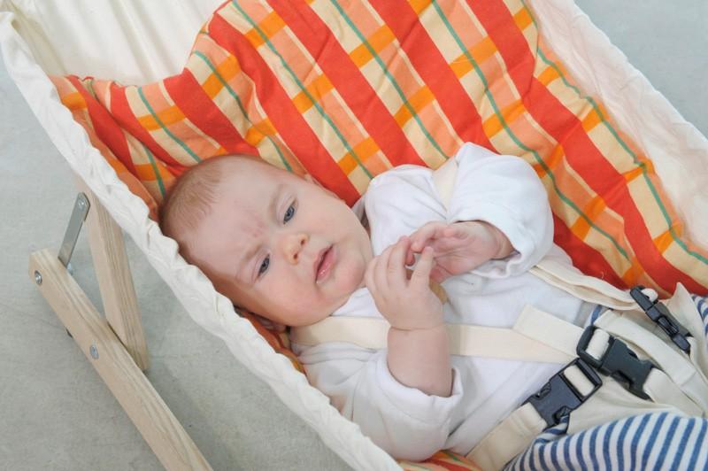 Decke Sunny red für AMAZONAS-Babyhängematten