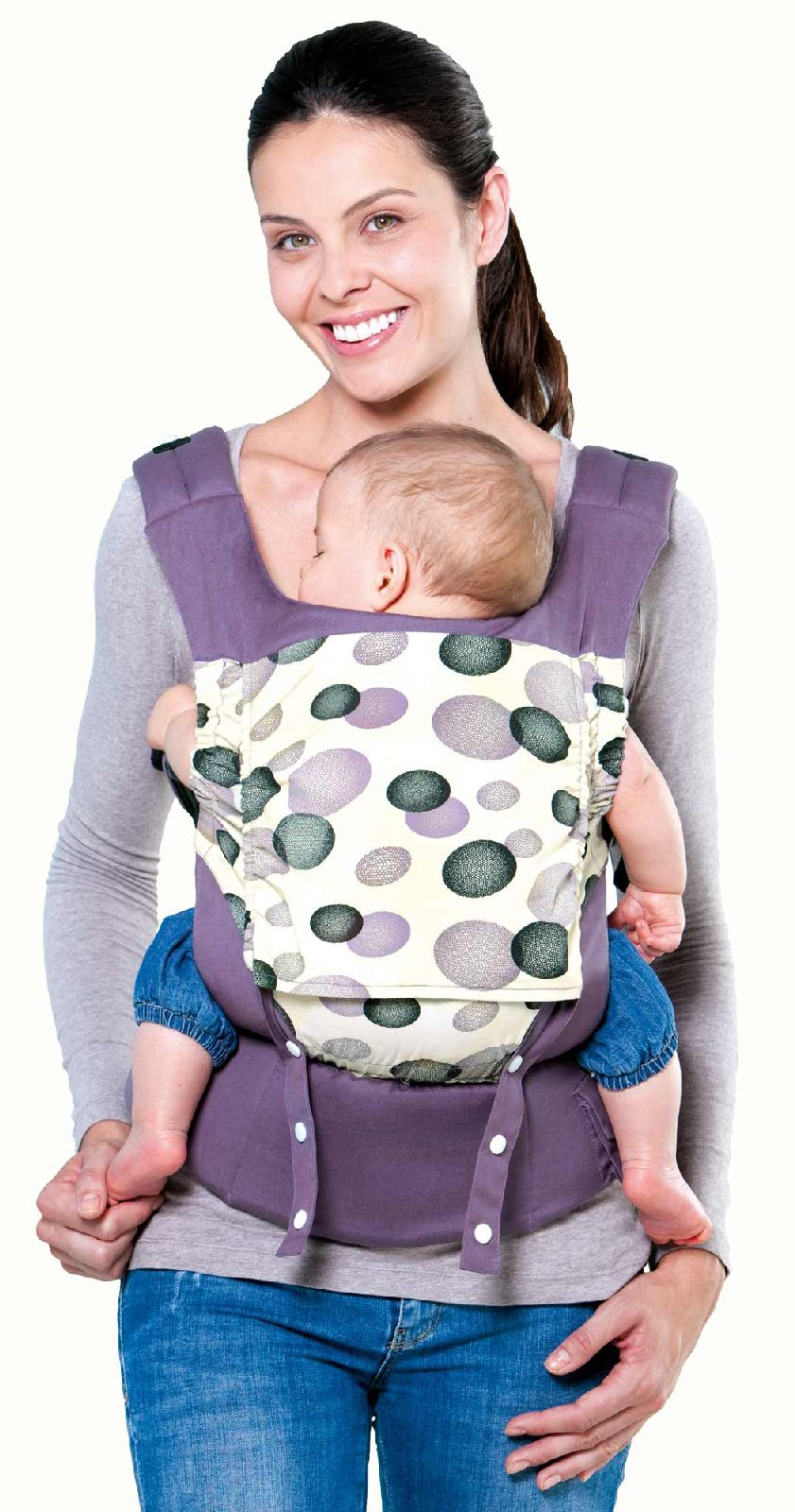Babytragehilfe Smart Carrier blueberry