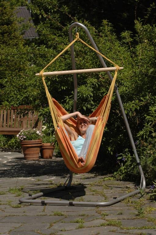 hngesessel elegant chair hammock from mexico natur with hngesessel simple kleiner garten im. Black Bedroom Furniture Sets. Home Design Ideas