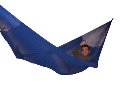 Hängematte Doble blau