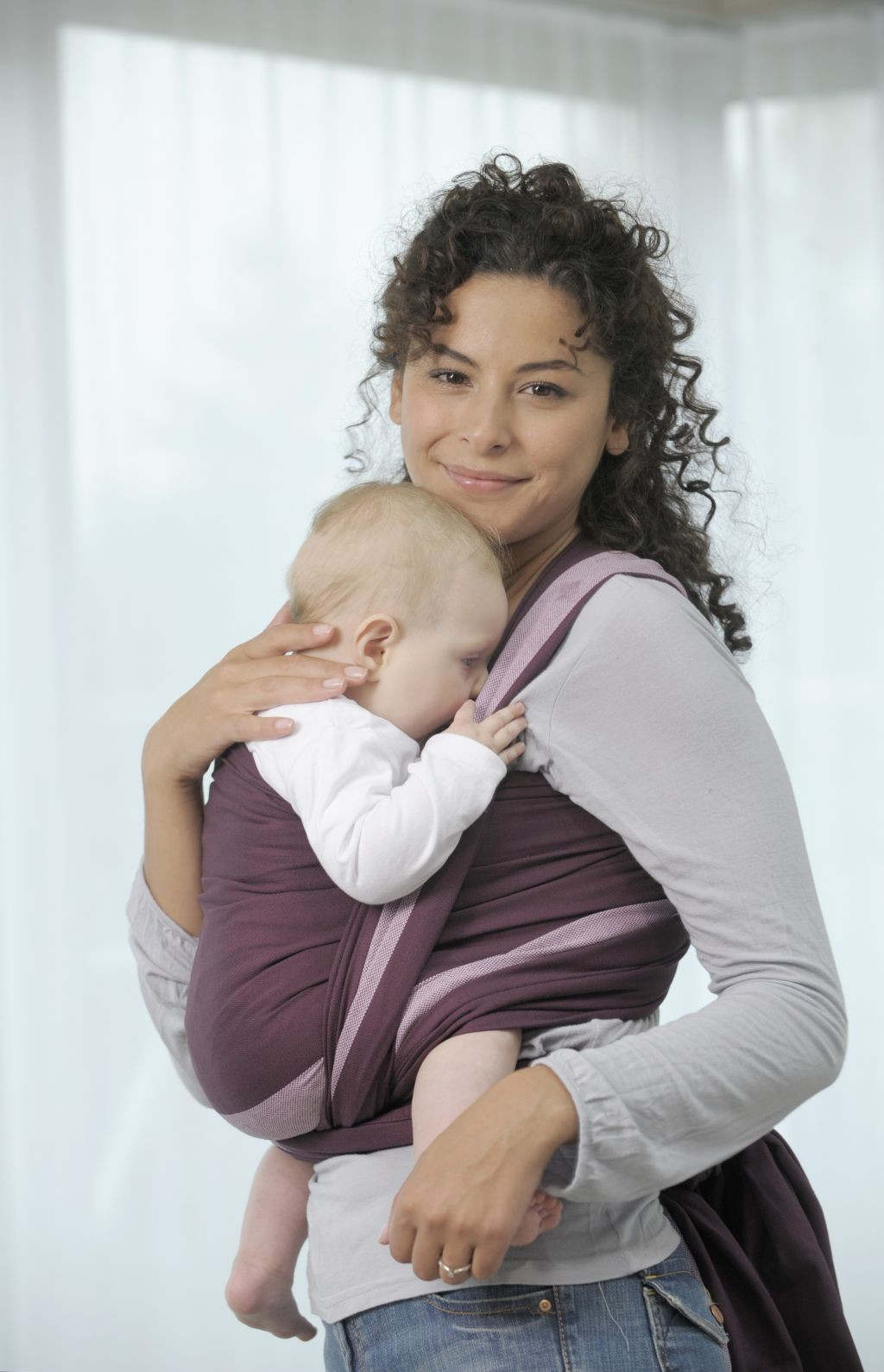 Tragetuch Carry Sling berry - 450 cm