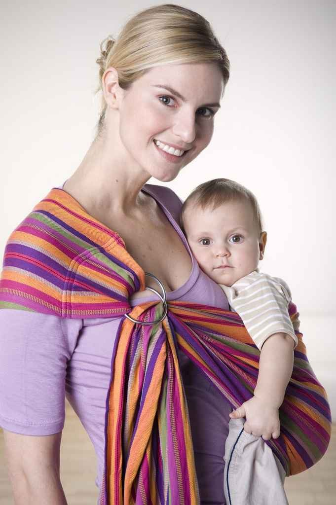 Tragetuch Ring Sling lollipop small - 180 cm