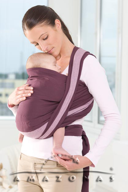 Tragetuch Carry Sling berry - 510 cm